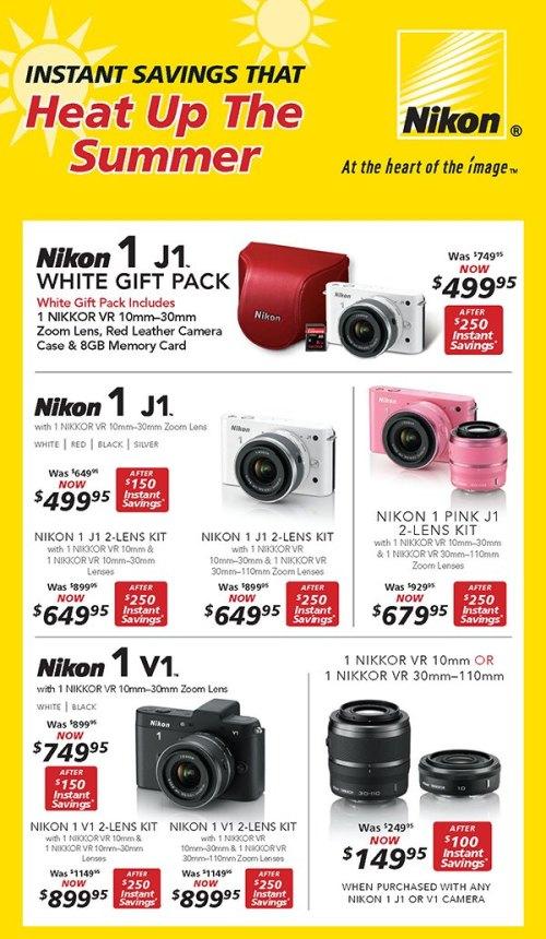 Nikon Summer Deals